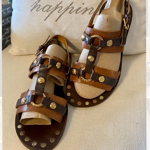 """""""Kors"""" By Michael Kors Strappy Sandals"""